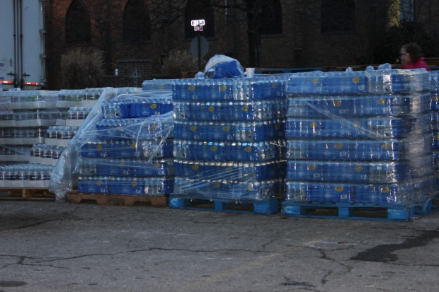 Water at a Distribution Site in WV