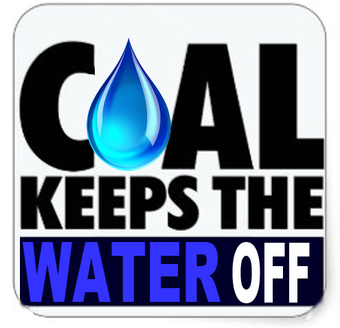 Coal Keeps the Water Off
